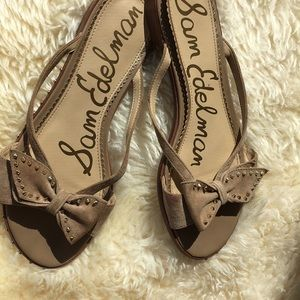 Sam Edelman suede sandals 9
